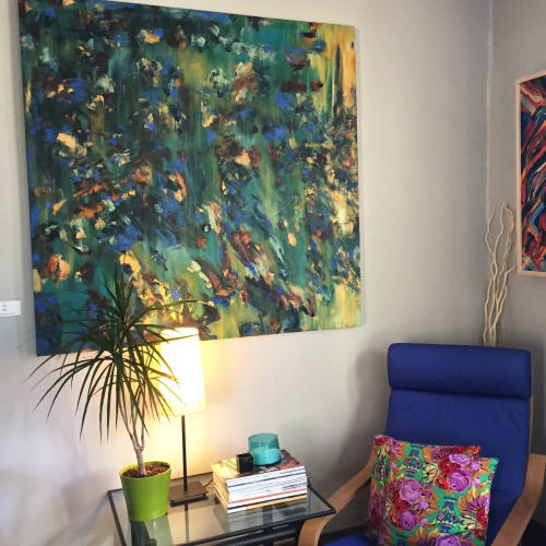 Paintings by Gretchen Grace Dreisbach - Artist seen at Private Residence, Minneapolis - Luna