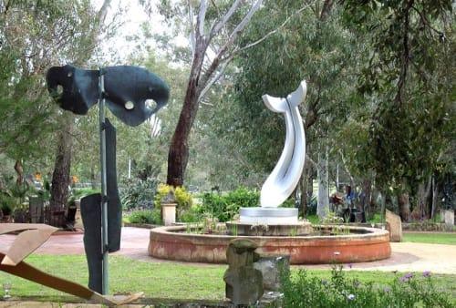 R.M. (Ron) Gomboc  Cit.WA - Public Sculptures and Sculptures