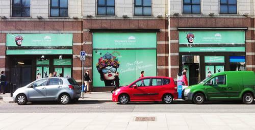 Art & Wall Decor by Mickey Shu-Ting Chan seen at Stephen's Green Shopping Centre, Dublin - Illustration Art
