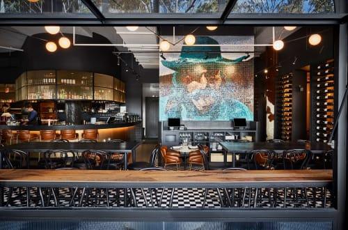 Interior Design by EWERT LEAF seen at Asado, Southbank - Asado