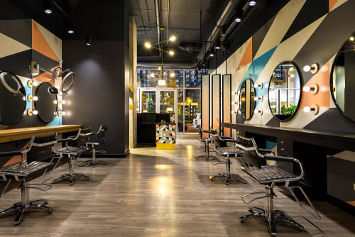 Interior Design by blocHaus at BOSS HAIR GROUP, Chicago - Interior Design