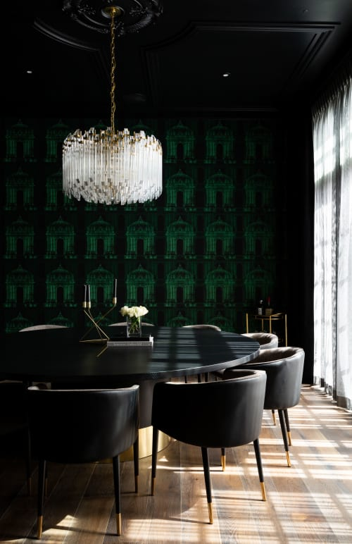 Chandeliers by Circa Lighting seen at Private Residence, Calgary, Calgary - Chandeliers