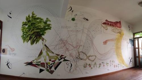 Murals by Sketchbook Murals by Matt Collier seen at Private Residence - Matt Collier