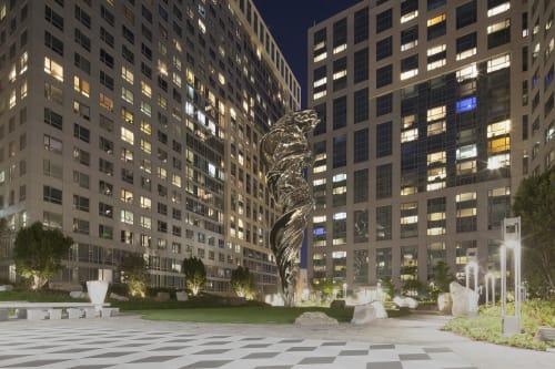 Art Curation by Chandra Cerrito / Art Advisors seen at 33 8th at Trinity Place in SoMa, San Francisco - Art Curation