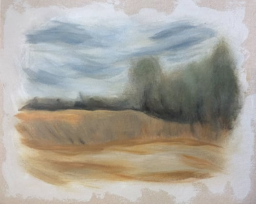 Landscape   Paintings by Lizzie DiSilvestro