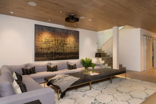 Paintings by Tania Dibbs seen at Private Residence, Aspen - Afterthought