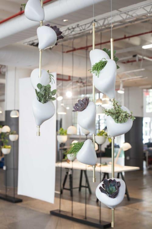 Hanging Window Gardens | Vases & Vessels by Danielle Trofe Design | Yoga Tribe Brooklyn in Brooklyn