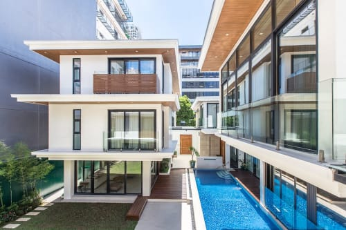 Architecture by WTA Architecture and Design Studio seen at Private Residence, Mandaluyong - C3 Residence