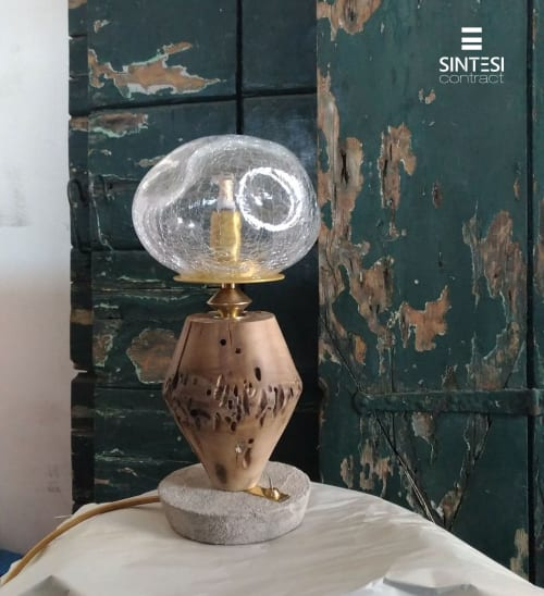 Lamps by Sintesi Contract seen at Venice, Venice - Lustre