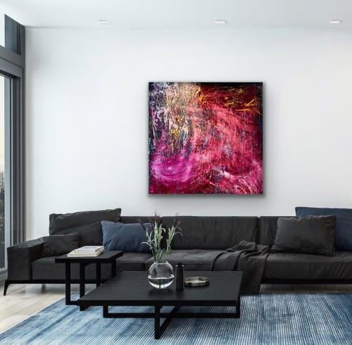Paintings by Maria-Victoria Checa Art seen at Bethesda, Bethesda - Intense Fusion
