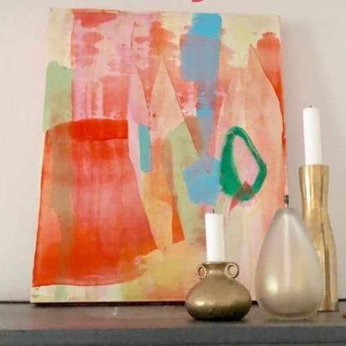 Paintings by Kari Kroll seen at Private Residence, The Woodlands - Abstract Painting