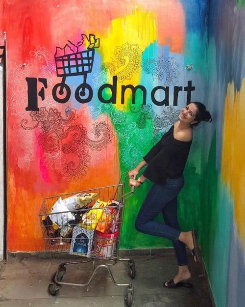 Murals by Kanak Nanda seen at FOODMART, Nashik - Foodmart Supermarket