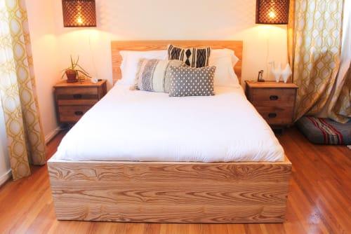 Custom Hardwood bedframe | Beds & Accessories by Meisch Made
