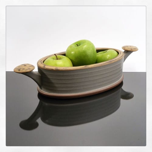 Tableware by VEpottery seen at VEpottery, Helena - Oblong Serving Bowl