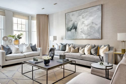 Interior Design by Singer Design seen at Private Residence, London - Holland Park