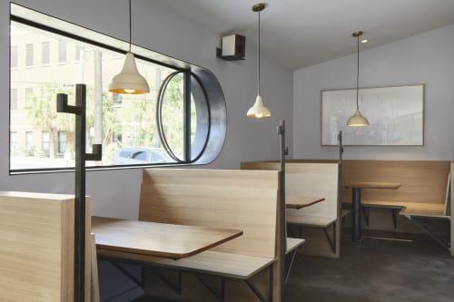Interior Design by Lilianne Steckel Interior Design seen at Better Half Coffee & Cocktails, Austin - Better Half Coffee & Cocktails