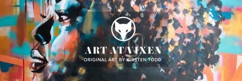 Art at Vixen by Kirsten Todd - Paintings and Art