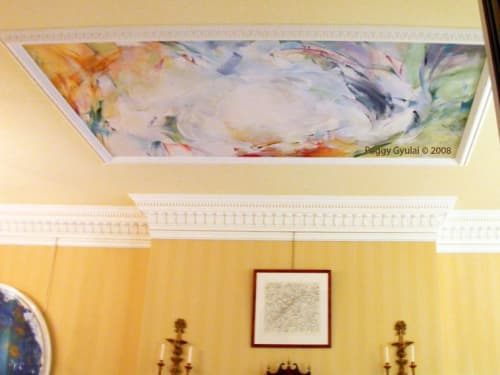 Paintings by Peggy Gyulai seen at Private Residence, Philadelphia - Painting