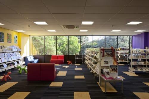 Interior Design by SGA Ltd seen at Mt Roskill Library, Auckland - Mount Roskill Community Library