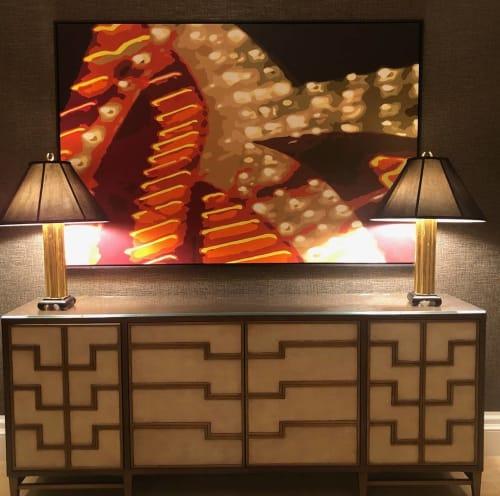 Paintings by Jerry Misko seen at Four Seasons Hotel Las Vegas, Las Vegas - Commissioned Painting