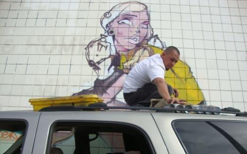 Kopye Son - Street Murals and Murals