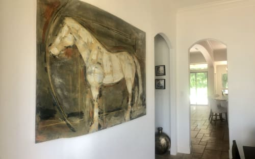 Paintings by Monterroso Studio seen at Private Residence - Fulshear, TX, Fulshear - Steal Your Thunder