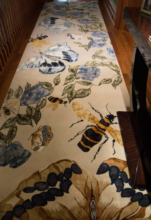 Rugs by Candice Kaye Design at Private Residence, Toronto - Butterfly Rug