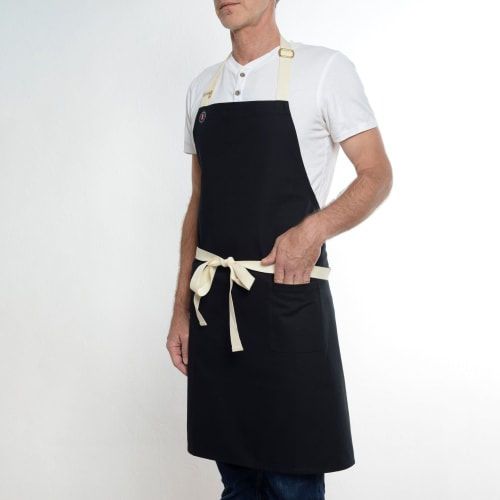 Aprons by BoWorkwear seen at Ho Foods, New York - One Pocket Black Apron