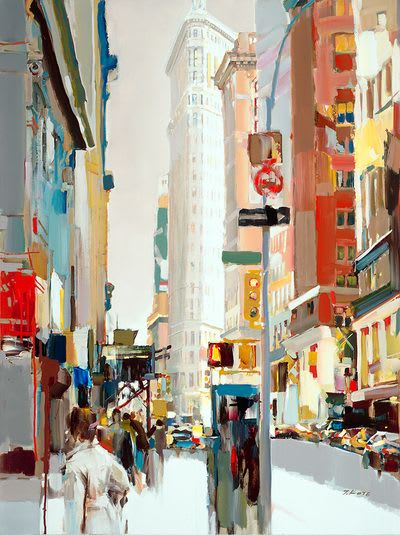 "Art & Wall Decor by YJ Contemporary seen at East Greenwich, East Greenwich - Josef Kote ""Flatiron Building, NYC"""