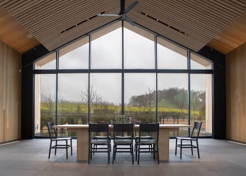Chairs by Fyrn seen at Silver Oak Alexander Valley, Healdsburg - Mariposa Standard Chairs
