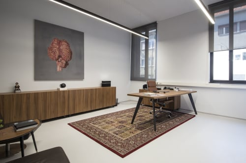 Interior Design by Brigada* seen at Zagreb, Zagreb - Kofein agency
