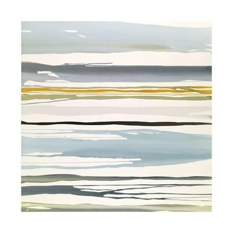 "Paintings by Rob Delamater seen at Private Residence, Walnut Creek - ""In Between Color I & II"""