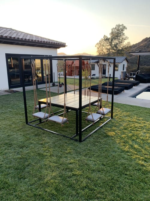 Tables by SwingTables at Private Residence, Calabasas - 8-Seater 2.0