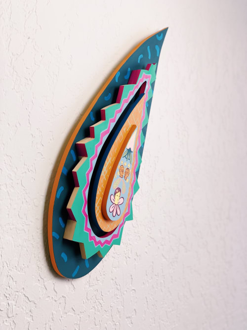 Paintings by Sofia Enriquez seen at Private Residence, Palm Springs - Adam