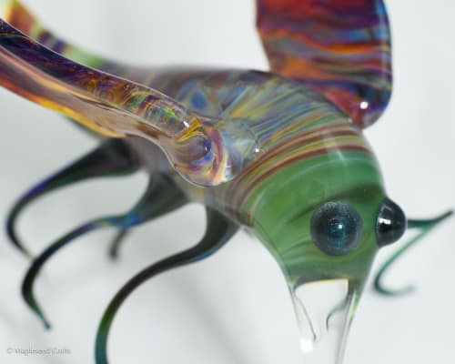 Sculptures by Mapleseed Crafts seen at Private Residence - Oakland, CA, Oakland - Extrasolar Visitor