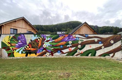 Anya Mielniczek - Street Murals and Murals