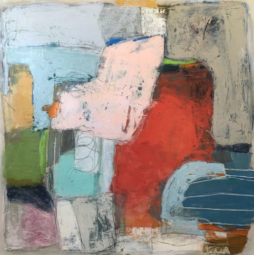 Paintings by Terri Froelich Fine Art at Private Residence, Mill Valley - Moving Forward 1