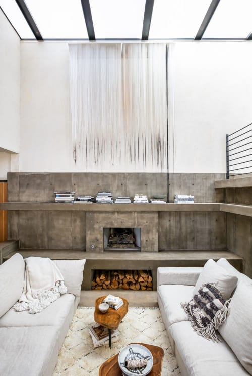 Wall Hangings by Nike Schroeder Studio seen at Private Residence, Santa Monica, CA, Santa Monica - Counting the Days