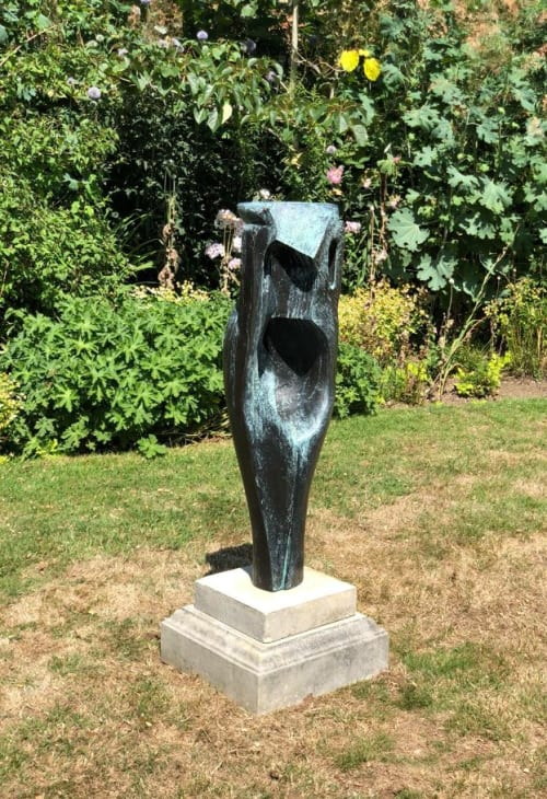 Sculptures by Rob Leighton Sculptor seen at Godinton House and Gardens, Ashford - Janus