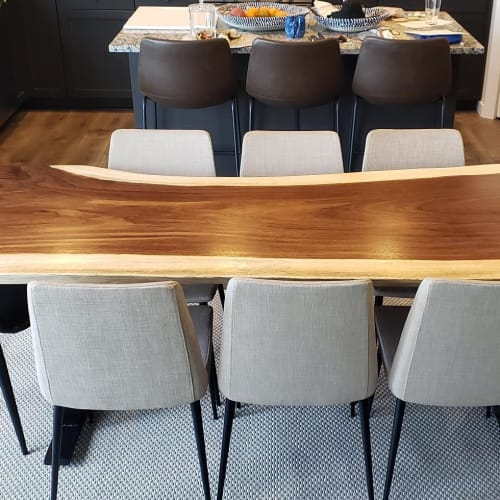 Tables by Elpis & Wood seen at Private Residence, Seattle - Dining Table