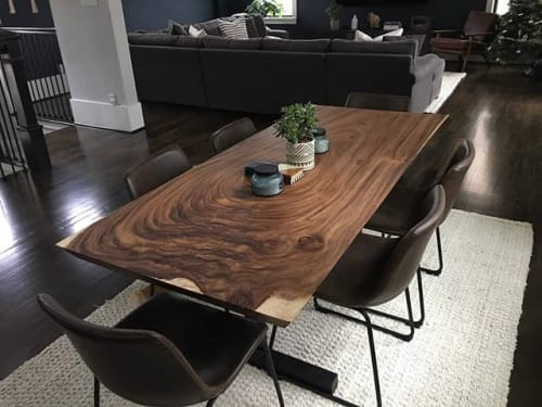 Tables by Once a Tree seen at Private Residence, Houston - Dining Table