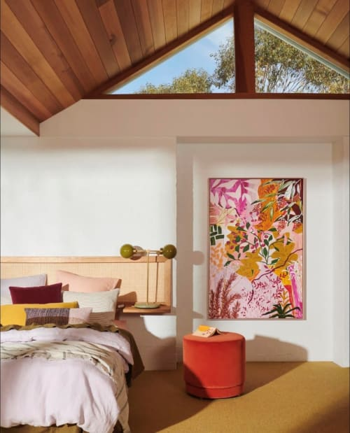Paintings by kate mayes art seen at Private Residence, Torquay - Agápe - Original Artwork