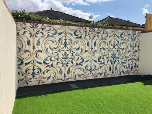 Murals by Fran Halpin Art seen at Private Residence, Castleknock - Commissioned Mural