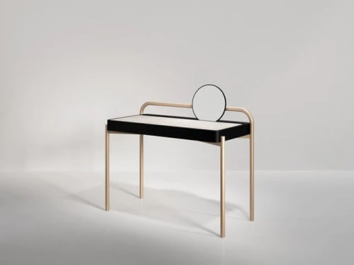 Roll Desk | Tables by SECOLO