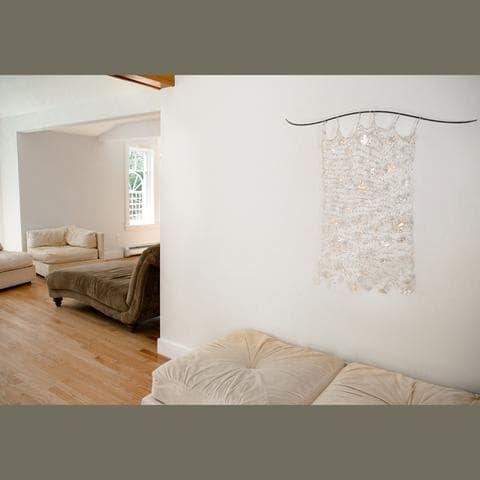 Art & Wall Decor by Susan Freda seen at Private Residence, Barrington - Hiems Caelo (Winter Sky) Installation