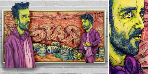 Jeff Blackburn - Murals and Street Murals