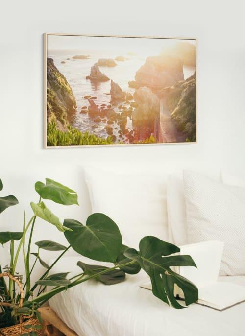 Photography by Kara Suhey Print Shop seen at Creator's Studio, Santa Barbara - Golden Hour