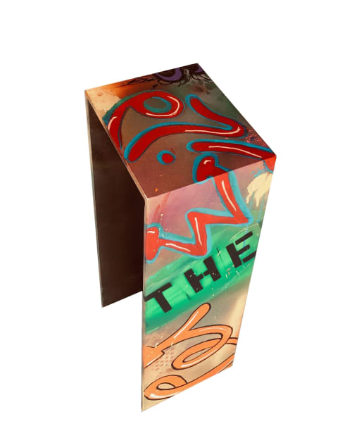 """Tables by Andi-Le seen at Aspen, Aspen - """"Where the Wild Things Go"""" End Table"""