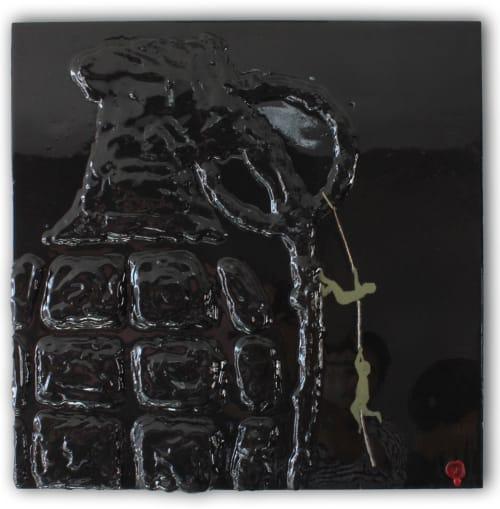 Paintings by Nickhartist seen at Private Residence, Pleasanton - Grenade