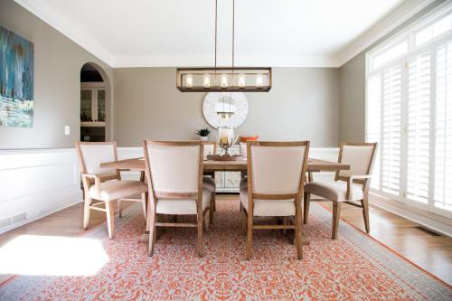 Interior Design by Thiesen Interiors at Private Residence, Alpharetta - Park Brooke Refresh